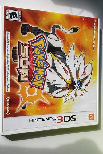 Juego Para Nintendo 3ds Pokemon Sol Usado En Muy Buen Estado