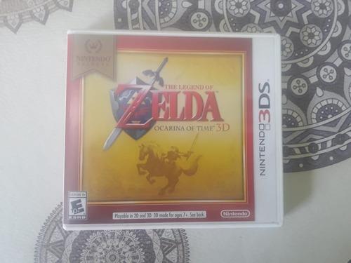 Juego The Legend Of Zelda Ocarina Of Time 3d