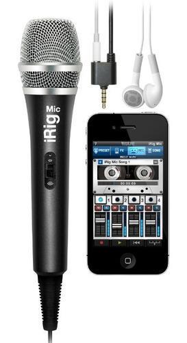 Microfono Condenser Portatil Ik Multimedia Irig Mic - Oddity