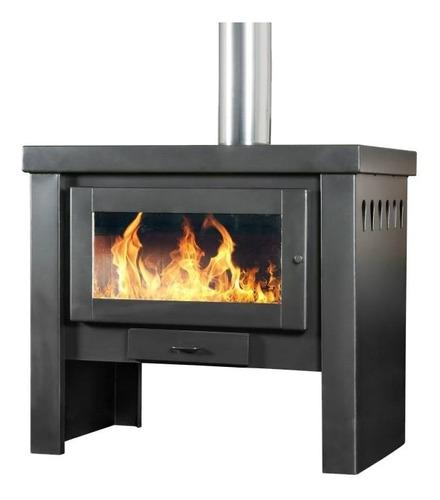 Qutral Estufa Calefactor A Leña 26000 Kcal - Bajo Consumo