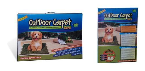 Bandeja Sanitaria Perros Paño Pet Outdoor Carpet Mini