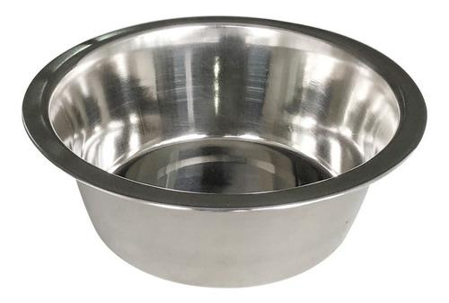 Comedero - Bebedero De Acero Para Mascotas De 21 Cm