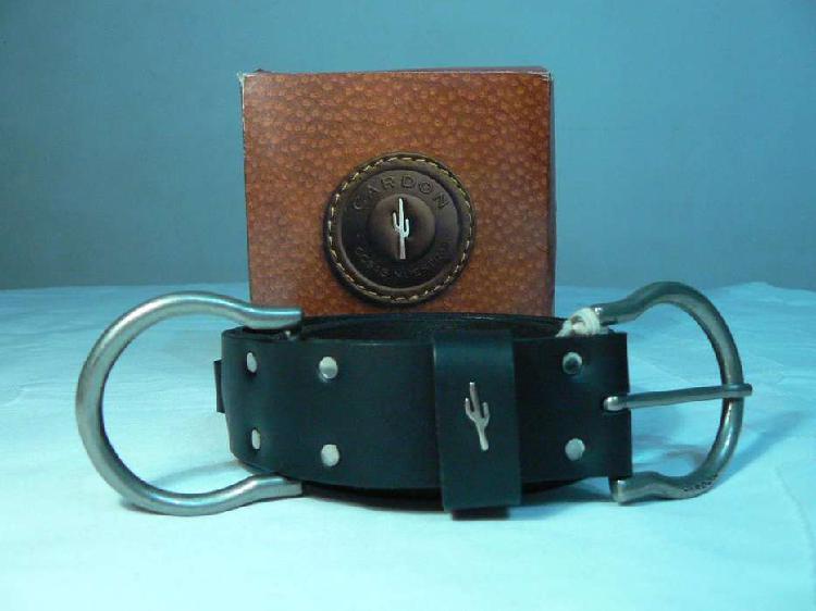 Fabuloso Cinturón de Hombre Cardón de Cuero Taguas Color