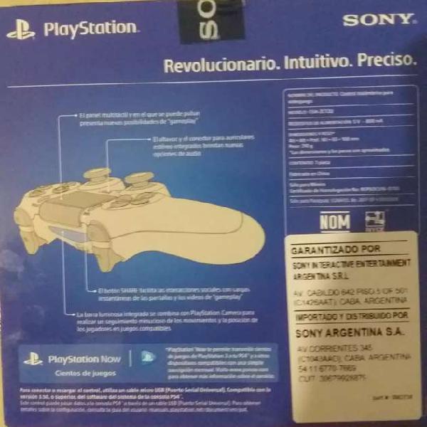 Joystick Sony Ps4 Play 4 100% Original Inalámbrico