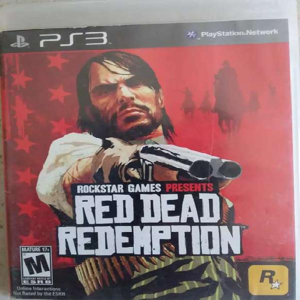 Juego Físico Original RED DEAD REDEMPTION Ps3 Play 3 ACEPTO