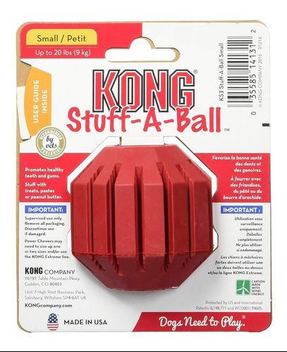 Pelota Kong Stuff-a-ball Small S Stuff A Ball Limpia Dientes