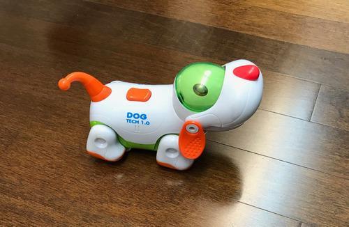 Perro Dog Tech 1.0 Juguete Luz, Sonido Y Movimiento Mine2000