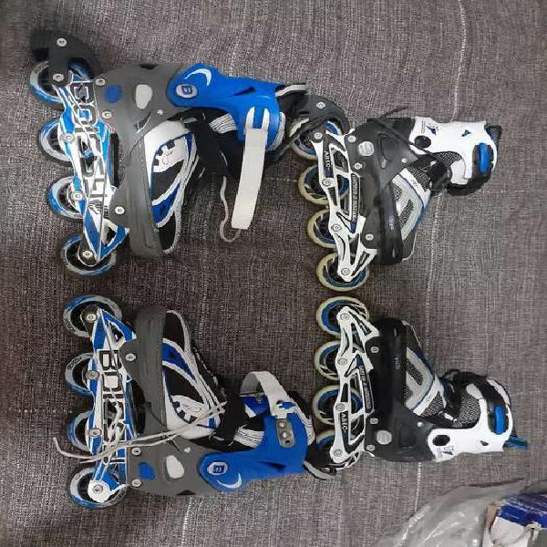Vendo 2 pares de rollers (boissy el más grande ) (senhay el