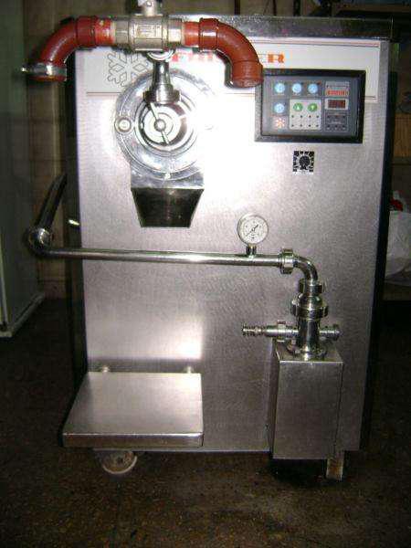 Fabricadora de helados continua frisher 300 litros por hora