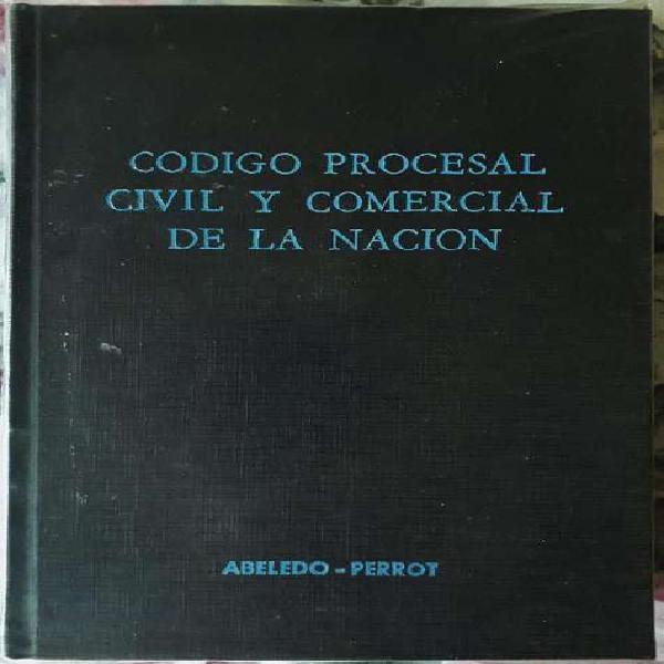 Código Procesal Civil Comercial De La Nación,Abeledo