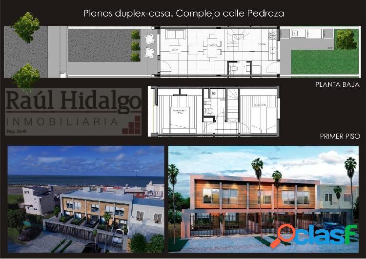 Duplex / casa de 3 ambientes a estrenar a media cuadra del