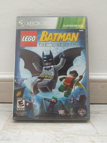 Juego Batman The Videogame Xbox 360 Perfecto Estado