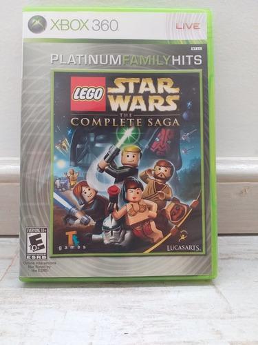Juego Lego Star Wars The Complete Saga Xbox 360 Original
