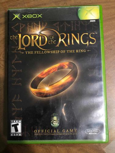 The Lord Of The Rings Xbox 360 Juego Original