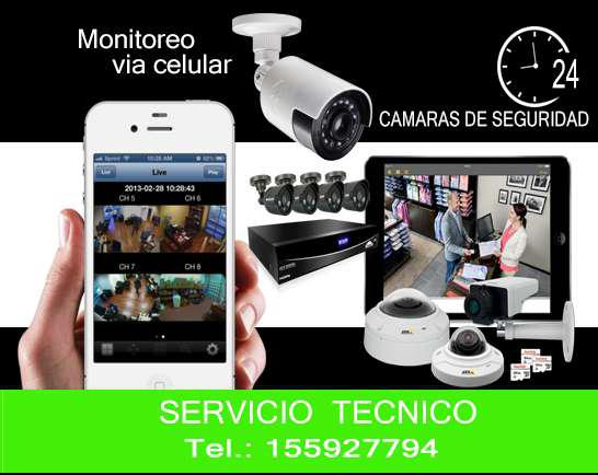 Video vigilancia desde su celular - camaras de seguridad