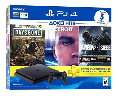 Consola Playstation Ps4 Slim 1tb Bundle Hits 5