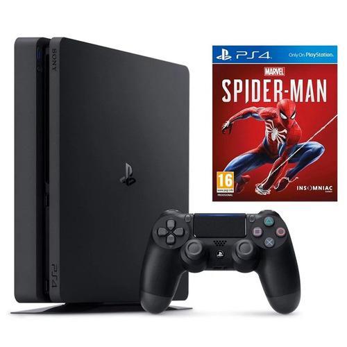 Consola Sony Ps4 1tb Edicion Spiderman Incluye Juego