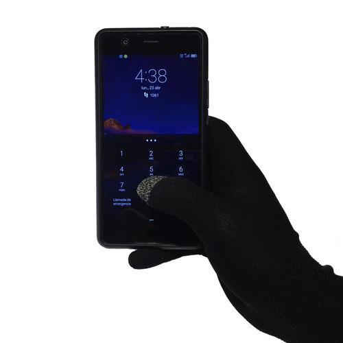 Guantes Termicos Natway Primera Piel Touch Celular Xs/s
