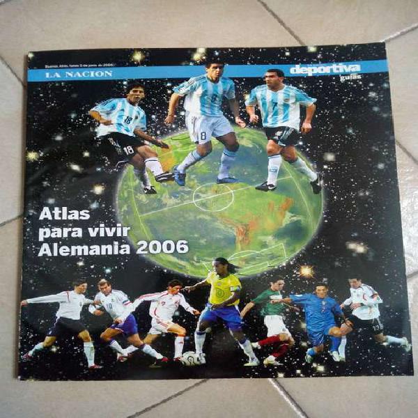 Libro De Colección. Atlas Para Vivir Alemania 2006