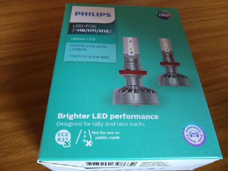 Lámpara Led H8/h11/h16 Philips