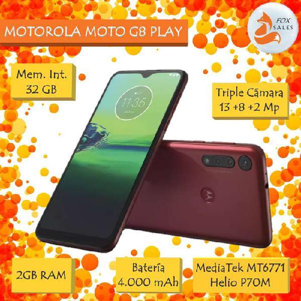 Motorola Moto G8 Play - Nuevos Sellados c/Garantía -