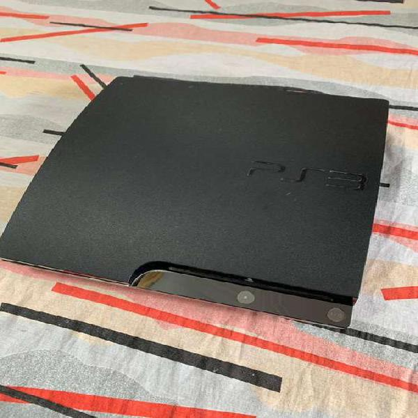 PLAY STATION 3 SLIM CON 10 JUEGOS ORIGINALES