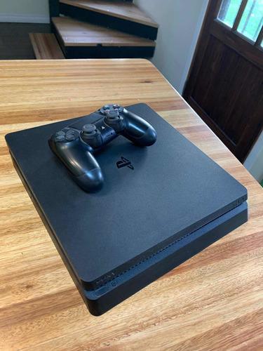 Playstation 4 Slim 500 Gb Excelente Estado Con Juegos