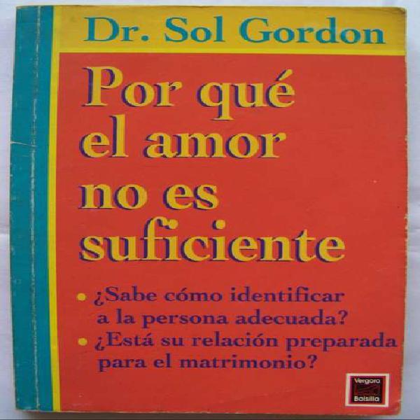 Porque El Amor No Es Suficiente - Sol Gordon - La Plata