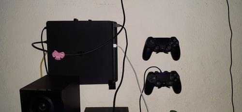 Ps4 Slim 1tb + 1 Joystick + 5 Juegos