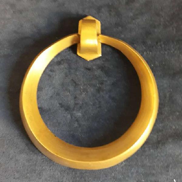 Antigua Aldaba Llamador De Bronce Para Puerta