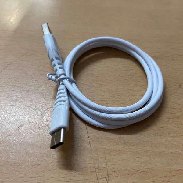 Cable usb tipo C acepta carga rápida 2.1