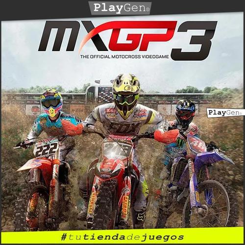 Mxgp 3 | Juego Ps4 Nuevo Original Español Oferta
