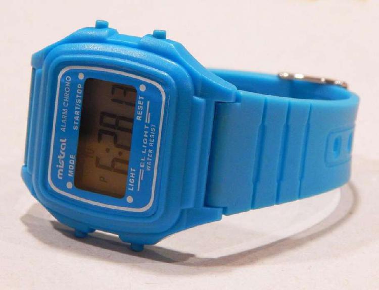 Reloj Digital Marca Mistral