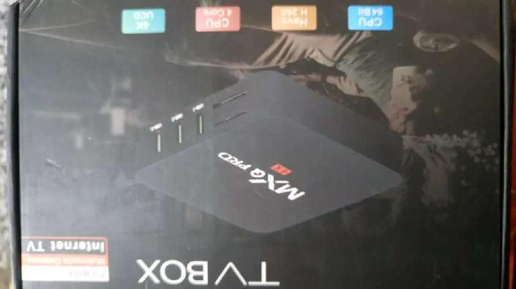 Vendo box tv Smart Android en caja nuevo