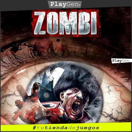 Zombie | Juego Ps4 Nuevo Original Español Oferta