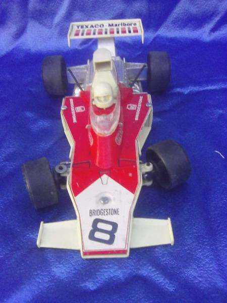 Auto F1 racing car 8163