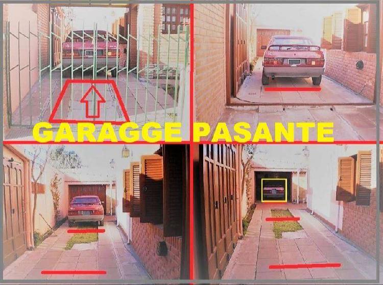 CASA de 128m2 con GARAGGE PASANTE para 3 vehículos y