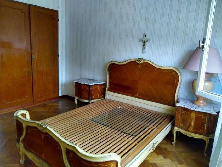 Cama dos plazas dormitorio estilo Luis XV matrimonial