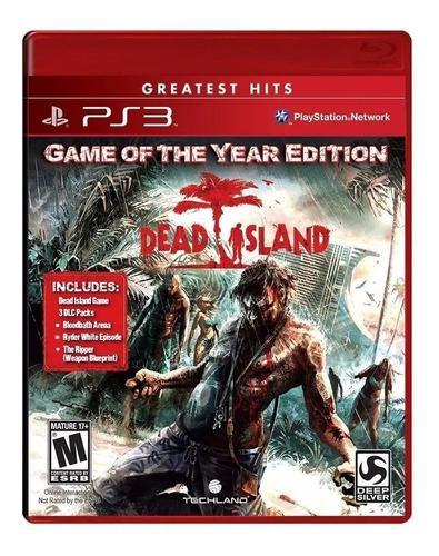 Dead Island Game Of The Year Edition Ps3 Juego Sellado Cd