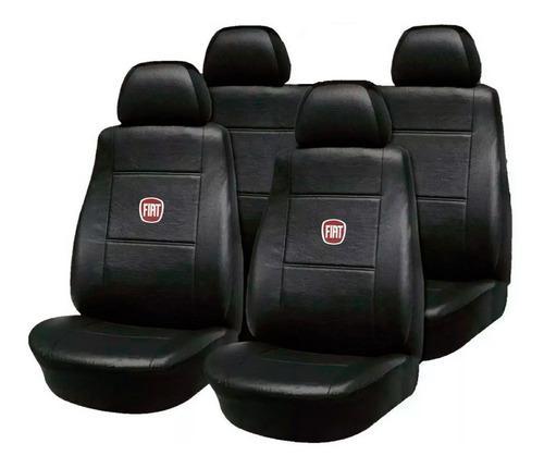 Fundas Asiento Cuero Fiat 147 Duna Uno Palio Siena Con Logo
