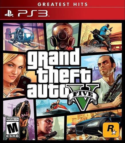 Grand Theft Auto V Juego Ps3 Original Fisico