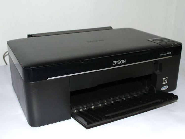 Impresora Multifuncion Epson Tx135 Cartucho Negro a Revisar