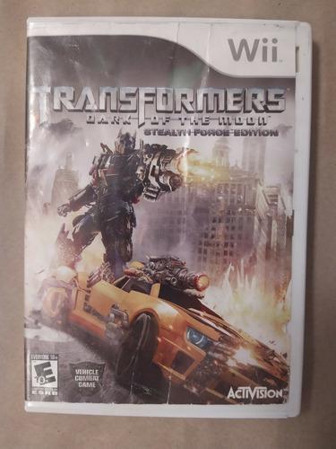 Juego Transformers Dark Of The Moon Original Nintendo Wii