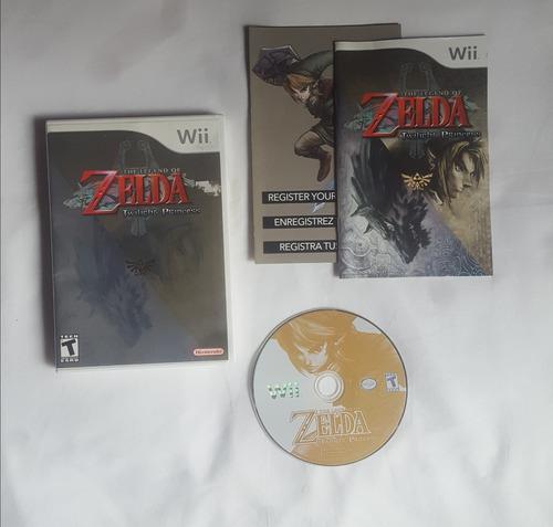 Legend Of Zelda Twilight Princess Juego Nintendo Wii Complet