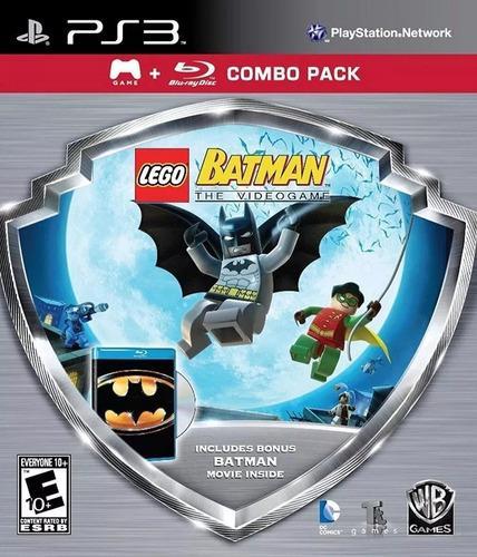 Lego Batman The Videogame Ps3 Juego Original Fisico Sellado
