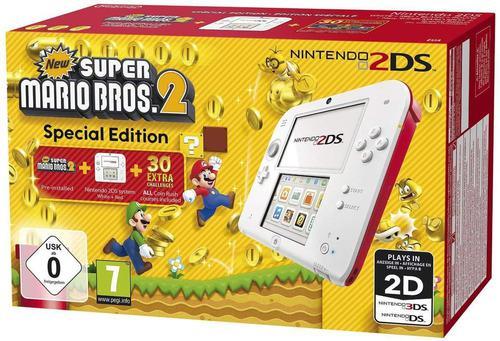 Nintendo 2ds New Super Mario Bros 2 Nueva Original Roja