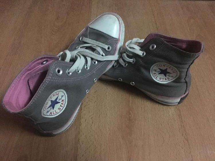 Zapatillas All Star Grises