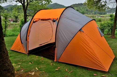 Carpa Familiar 6 -7 Personas 3 Ambientes Camping Super Pesca