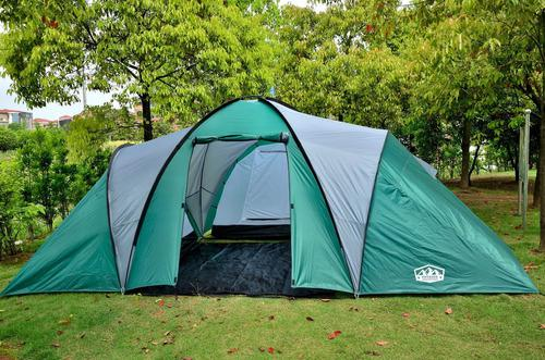Carpa Familiar 8 - 9 Personas 4 Ambientes Camping Super Home