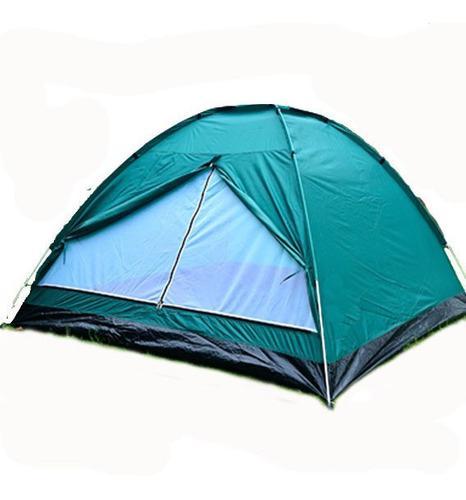 Carpa Iglu 4 Pers. 210x210x130cm Camping Easy Set + Bolso